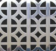 Ohio Polished Stainless Steel Decorative Grille Sheet 2000mm x 1000mm x 1mm